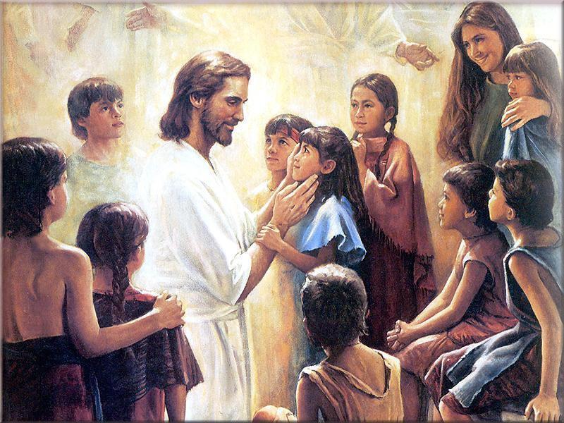 Jesus and Children